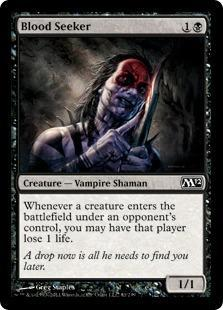 Blood Seeker Magic Card
