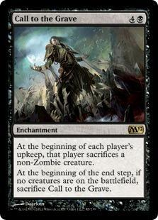 Call to the Grave Magic Card