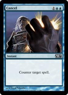 Cancel Magic Card