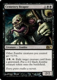 Cemetery Reaper Magic Card