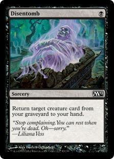 Disentomb Magic Card