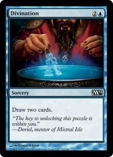 Divination Magic Card