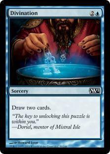 Divination Magic Card