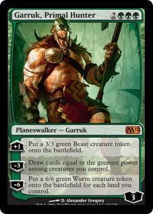 Garruk, Primal Hunter Magic Card