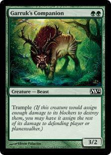 Garruk's Companion Magic Card