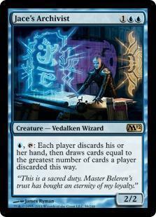 Jace's Archivist Magic Card