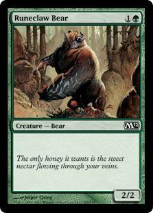 Runeclaw Bear Magic Card