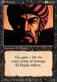 El-Hajjaj Magic Card
