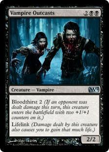 Vampire Outcasts Magic Card
