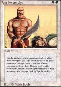 Eye for an Eye Magic Card