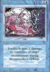 Feedback Magic Card