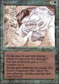 Fungusaur Magic Card