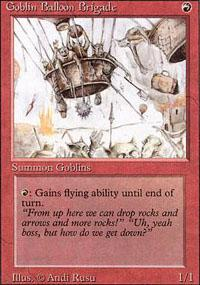 Goblin Balloon Brigade Magic Card