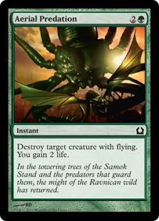 Aerial Predation Magic Card