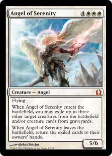 Angel of Serenity Magic Card