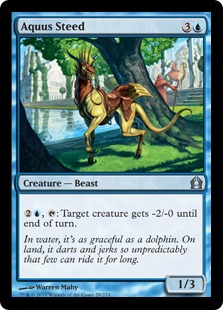 Aquus Steed Magic Card