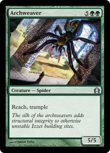 Archweaver Magic Card