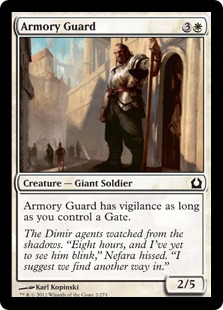 Armory Guard Magic Card