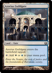 Azorius Guildgate Magic Card