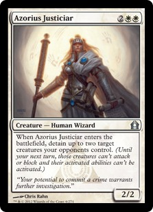 Azorius Justiciar Magic Card