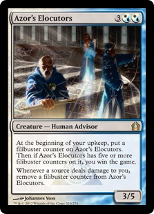 Azor's Elocutors Magic Card