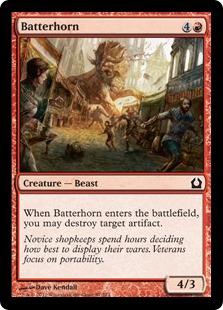 Batterhorn Magic Card