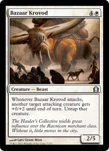Bazaar Krovod Magic Card