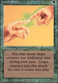 Instill Energy Magic Card