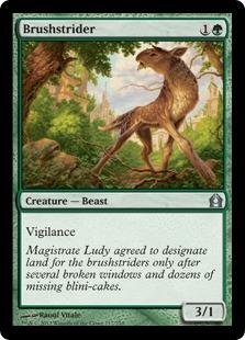 Brushstrider Magic Card