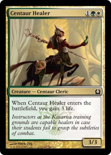 Centaur Healer Magic Card