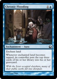 Chronic Flooding Magic Card