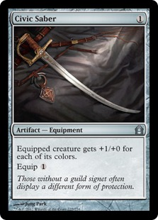 Civic Saber Magic Card