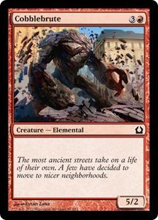 Cobblebrute Magic Card