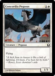 Concordia Pegasus Magic Card