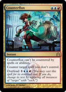 Counterflux Magic Card