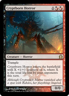 Cryptborn Horror Magic Card