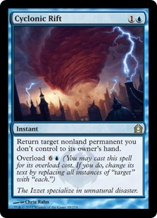 Cyclonic Rift Magic Card