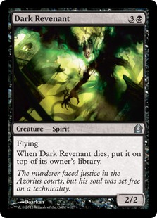 Dark Revenant Magic Card