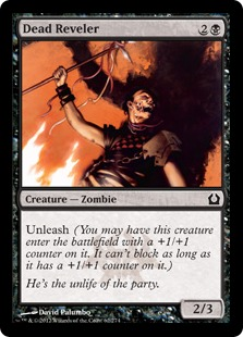 Dead Reveler Magic Card