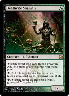 Deathrite Shaman Magic Card