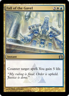 Fall of the Gavel Magic Card