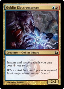 Goblin Electromancer Magic Card