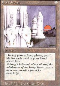 Ivory Tower Magic Card