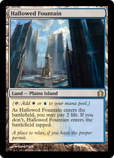 Hallowed Fountain Magic Card