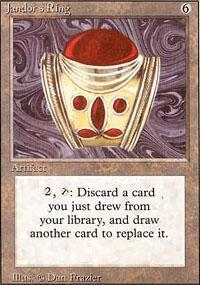 Jandor's Ring Magic Card