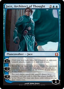 Jace, Architect of Thought Magic Card