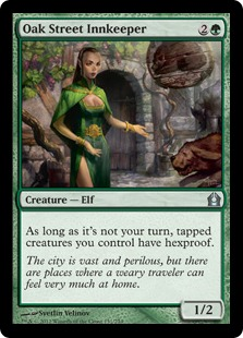 Oak Street Innkeeper Magic Card