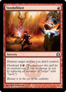 Vandalblast Magic Card