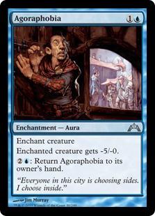 Agoraphobia Magic Card