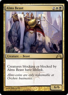 Alms Beast Magic Card